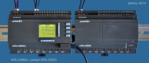 controlador plc array apb 24mrdl