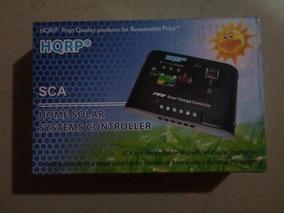 lux.pro Regulador 12V-24V Controlador Carga Inteligente Panel Solar 10A