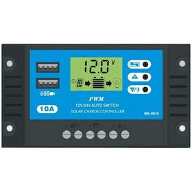 Controlador Regulador De Carga Panel Solar 10 A