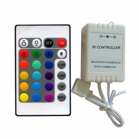 controlador rgb 24 teclas
