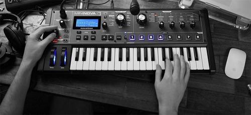 controlador sintetizador de 37 teclas novation mininova + nf