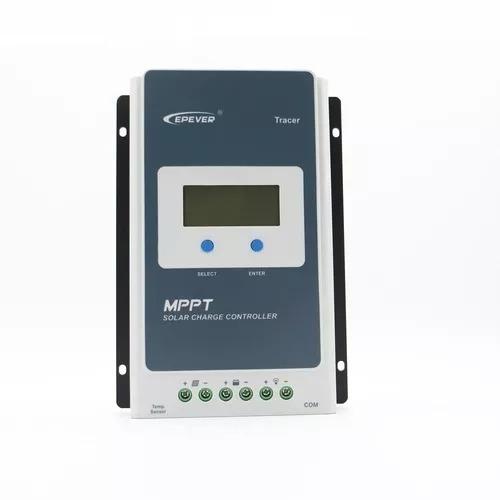 controlador solar tracer 20a 12v 24v epever 2210a pe