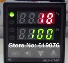 controlador temperatura rkc rex-c100fk02-m-an + termopar 1m