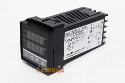 controlador temperatura + sensor termopar tipo k