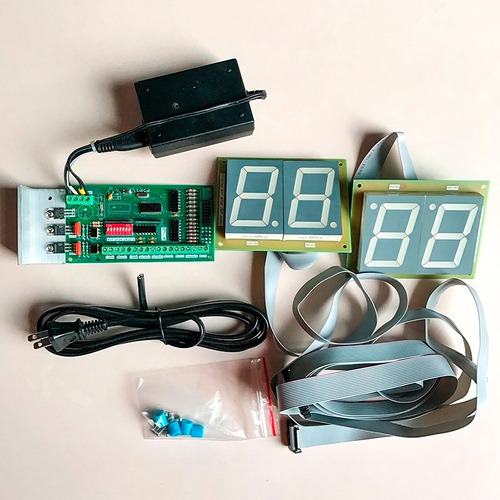 controlador timer digital mesa air hockey aire display disc