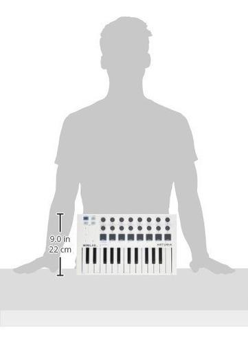 controlador usb midi arturia minilab mkii 25 key