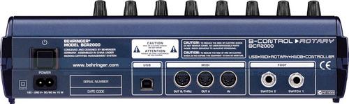 controlador usb/midi behringer bcr2000 confirmar existencia!