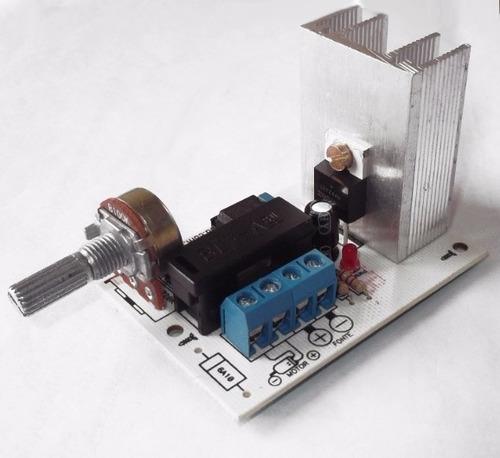 controlador velocidade motor 12v 20a pwm (frete grátis)