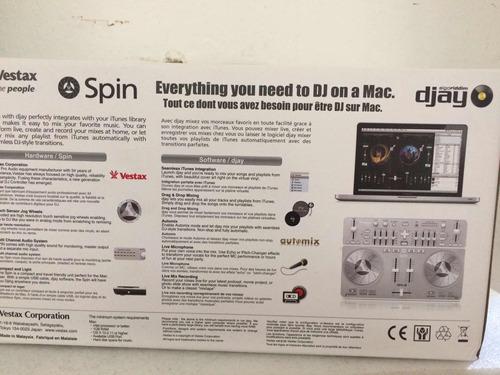 controlador vestax spin
