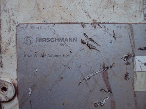controlador wlan hirschann ip67 sem testar