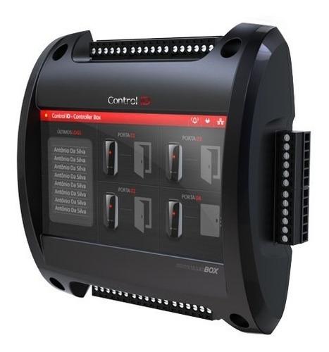 controladora acceso control id idbox hasta 4 puertas