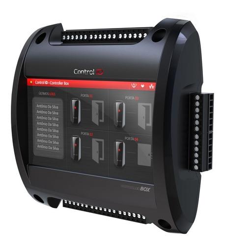 controladora de acesso control id idbox 04 portas