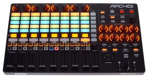 controladora dj midi usb launchpad akai apc40 mk2 + ableton