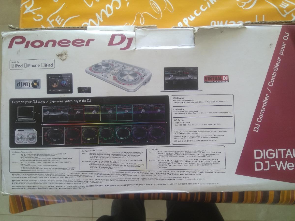 Controladora Dj Pioneer Wego2 + Cd Virtualdj Limited Edition