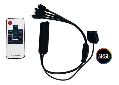 controladora fan argb +controle remoto gamemax rmt1687h