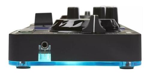 controladora hercules dj control starlight   + fone hdp dj40