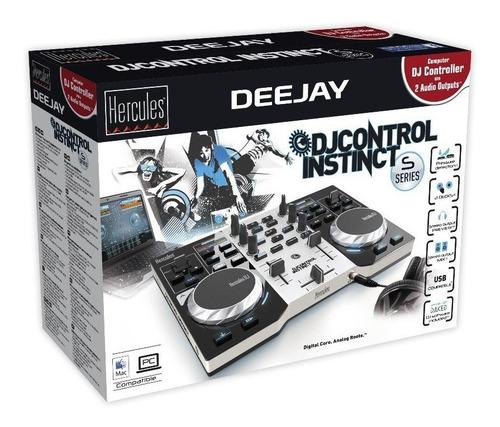 controladora  hercules dj instinct s series c/ nf e garantia