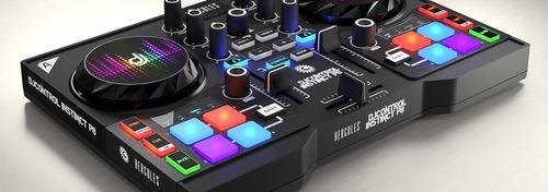 controladora hercules djcontrol instinct p8 party pack garan