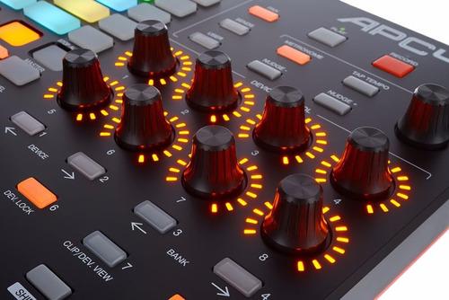 controladora midi usb launchpad dj akai apc40 mk2 + ableton