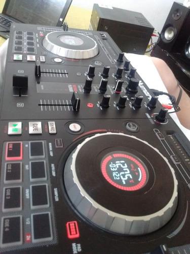 controladora  numark  mix track platinum