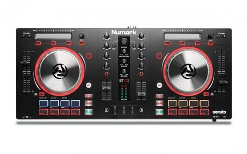 controladora numark mix track pro 3 + fone numar electrowave