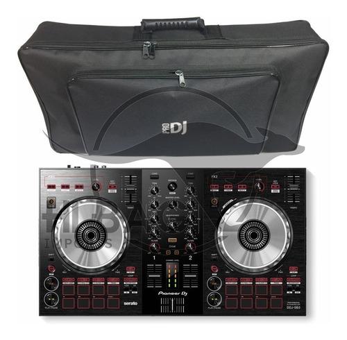 controladora pioneer dj ddj sb3 ddjsb3 lançamento ddj sb3