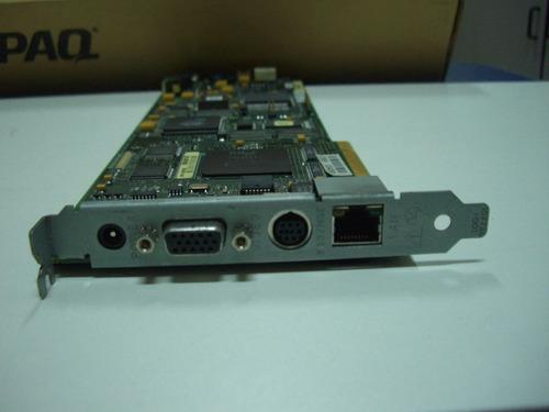 controladora remote insight board  p/n 225289-001 compaq