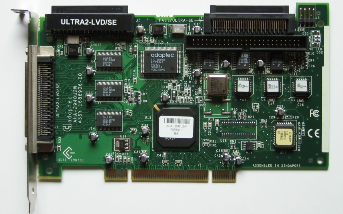 Adaptec AHA-2940U2W Treiber Herunterladen
