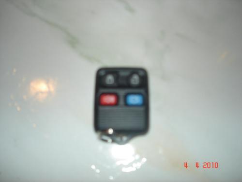 controle alarme fiesta, ecosport, f250, f 350 original ford