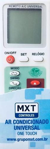 controle ar condicionado universal one touch mxt lg samsung