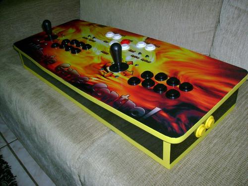 controle arcade duplo para ps3 e pc!