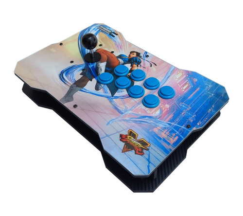 controle arcade full sanwa generico ps4 ps3 raspberry pc