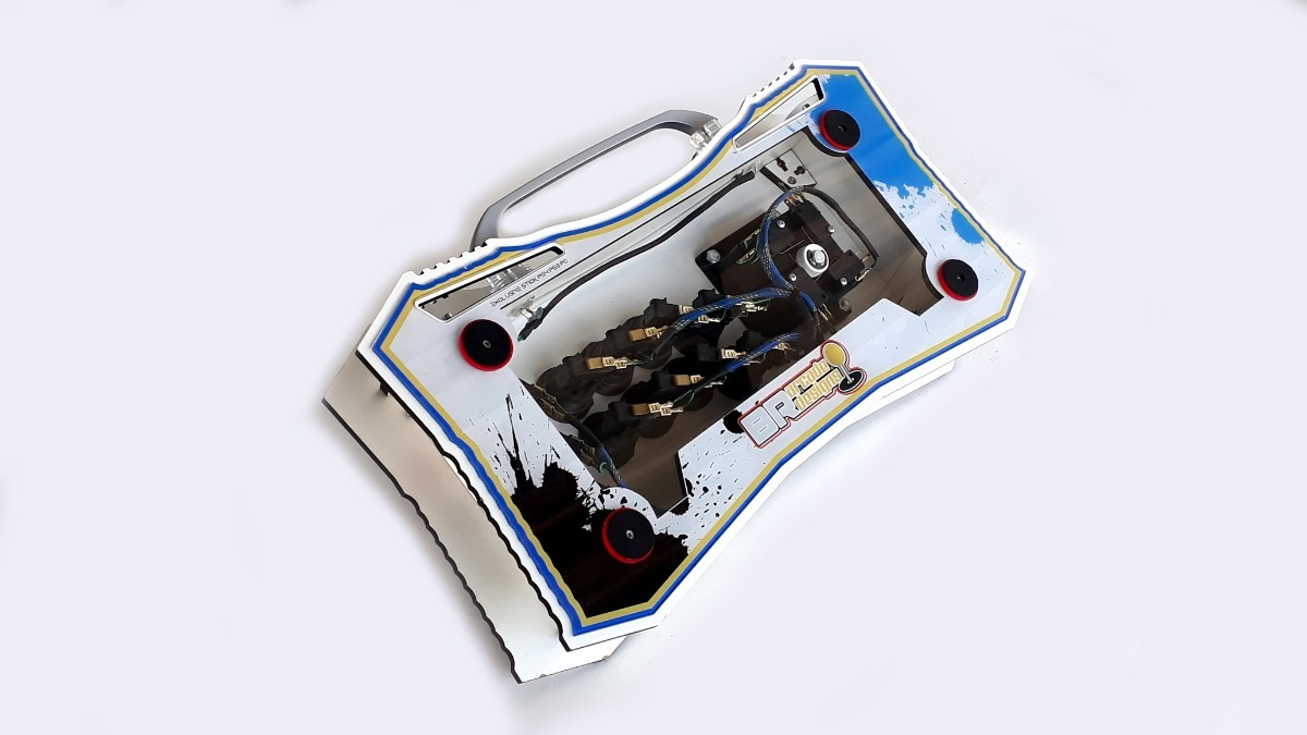 Controle Arcade Ps4 Ps3 E Pc 0 Delay Para Fightcade Kof 2002