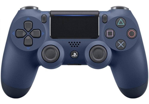 controle azul noturno - dualshock 4 midnight - ps4 - playstation 4