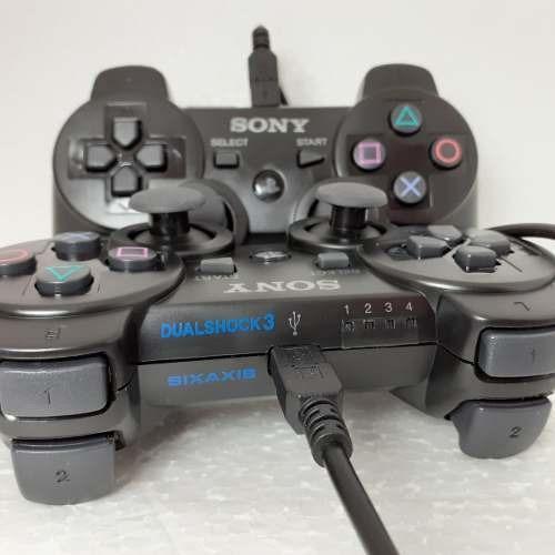 controle azul ps3 sem fio dualshock3 + 3 brinde original jsx
