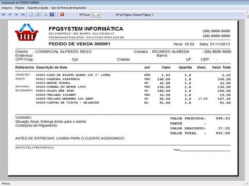 controle de estoque & vendas + tabela de preços e relatorios