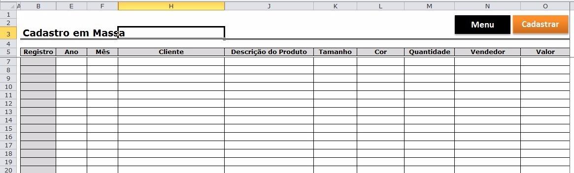 Controle De Pedidos Com Estoque - Excel Planilhas