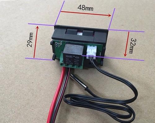 controle de temperatura termostato digital w1209 + fonte 12v