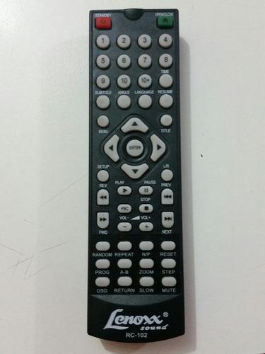controle dvd lenoxx rc 102 - dv 441a