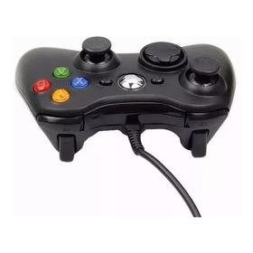 Controle Game Xbox 360 Pc Com Fio Usb Joystick Computador