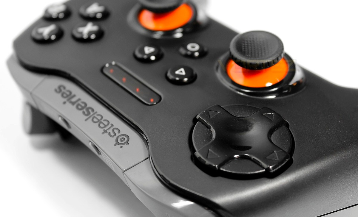 Controle Gamepad Android Pc Ios Steelseries Stratus Xl Box ...