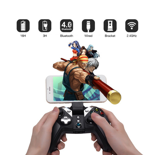 controle gamesir g4s android ps3 smartphone bluetooth