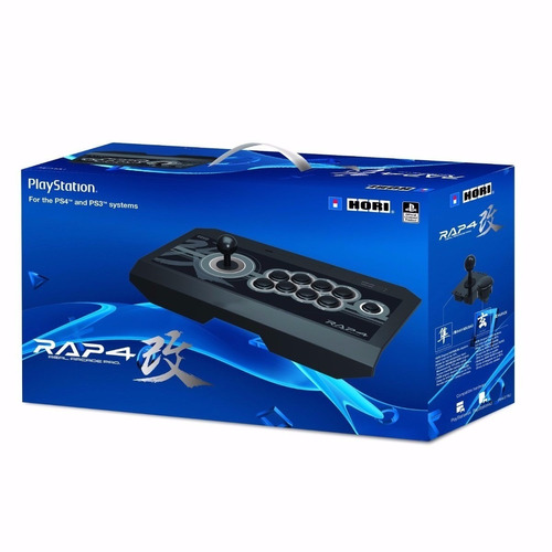 controle hori real arcade pro 4 rap 4 ps4 / ps3 / pc