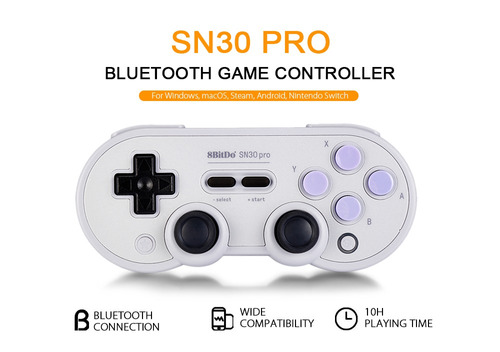 Controle Inalambrico Bluetooth Gamepad Switch Android Ios 8b