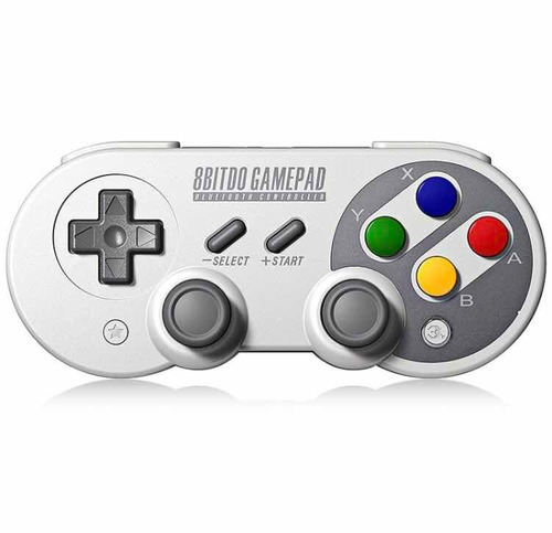 controle joystick 8bitdo sf30 pro bluetooth analogic