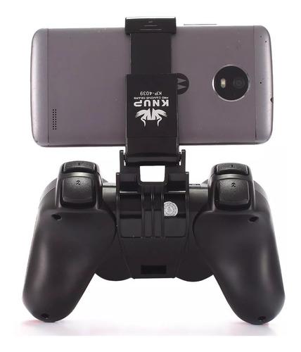 controle joystick bluetooth estilo ps3 android celular pc