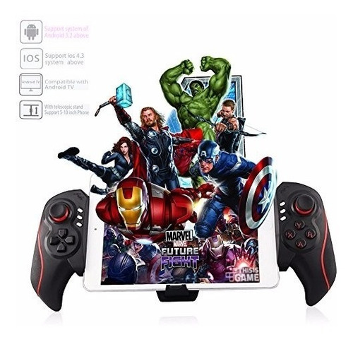 controle joystick bluetooth game ipega tablet celular btc938