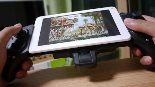 controle joystick bluetooth gamepad pc tablet ipad e celular