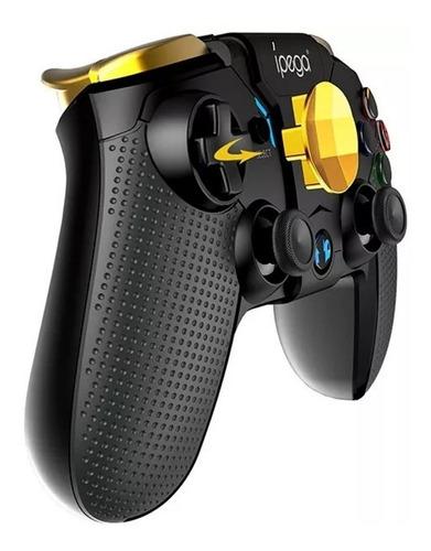 controle joystick bluetooth ipega 9118 turbo vibração celula