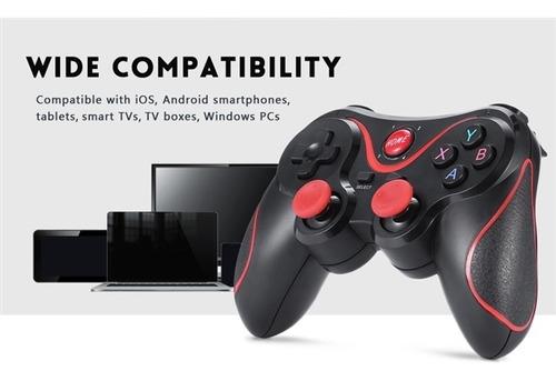 controle joystick bluetooth x3 celular android iphone